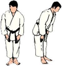 Le salut en judo